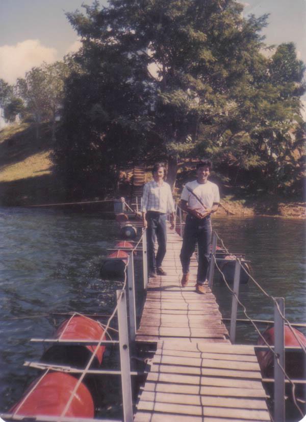 At Kaptai Navy camp- 1986