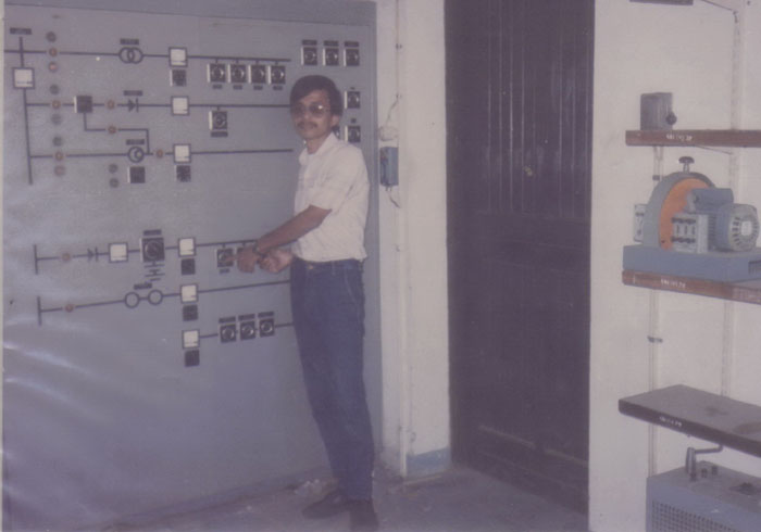 Inside Electrical Department in 1987