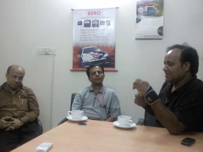 Mujib (Automobile), Monu (Electrical), Rhiben(Civil) get together & Adda -2011