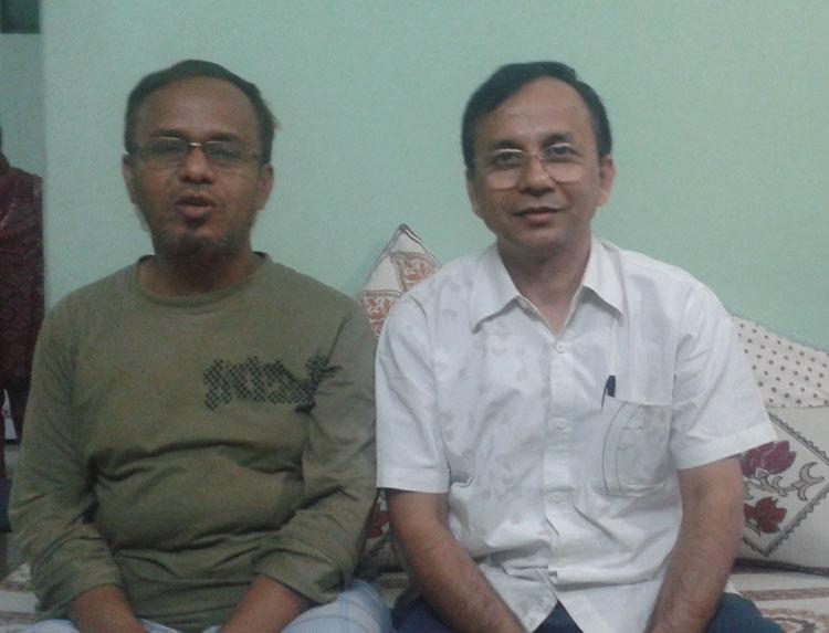 Saifu  and Opu on November, 2012