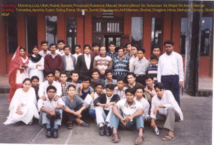 Student of 33 Batch Mechanical