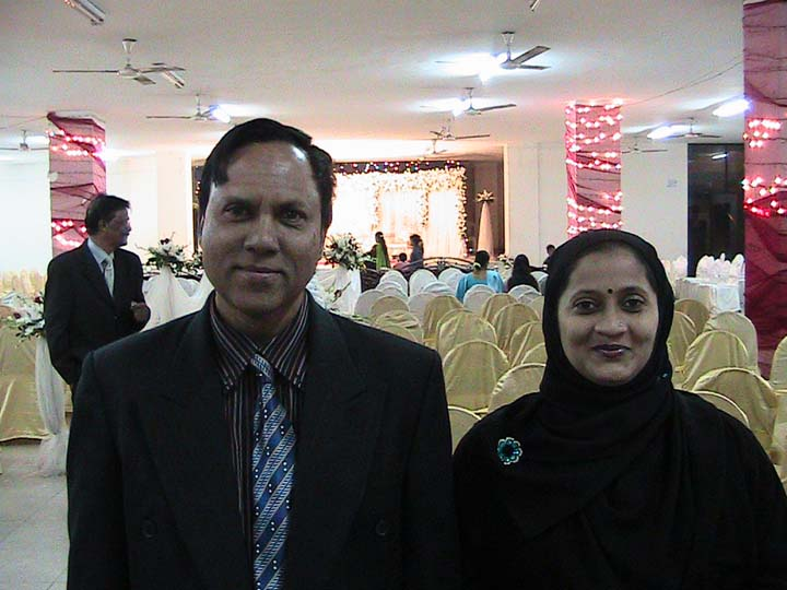 Mohshin (Batch-11) with his wife-Dec-2011