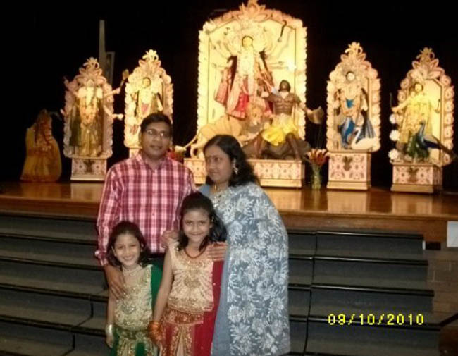 Samir (Batch-25,Mechanical) with his family in Australia on 2010
