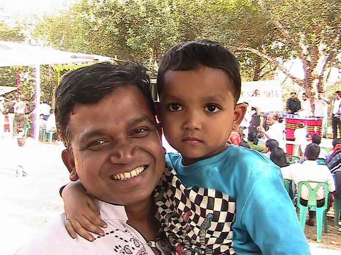 Uttam (Batch25) with his Daughter-2011