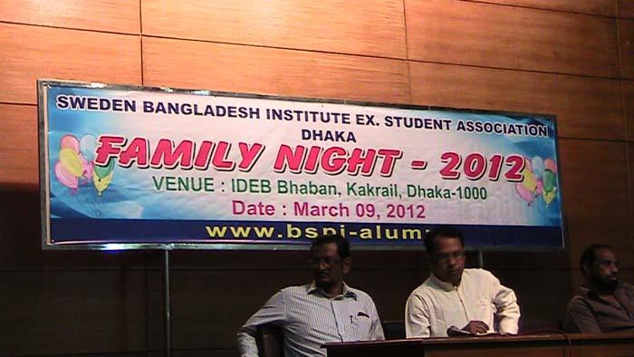 Alumni Family night-2012