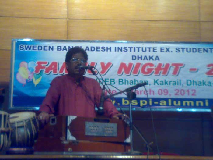 Popular Singer Abdul Jabbar singing