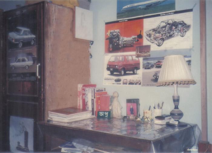 Inside a Hostel room-2