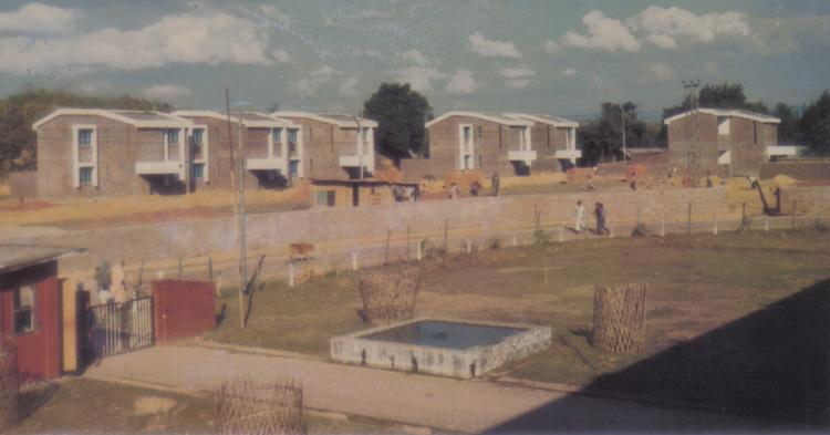 Staff Quarter  inside campus