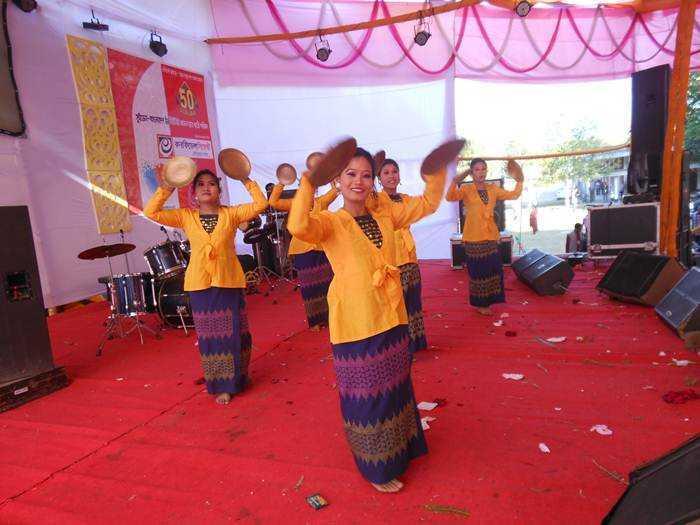 Chakma Tribal dance