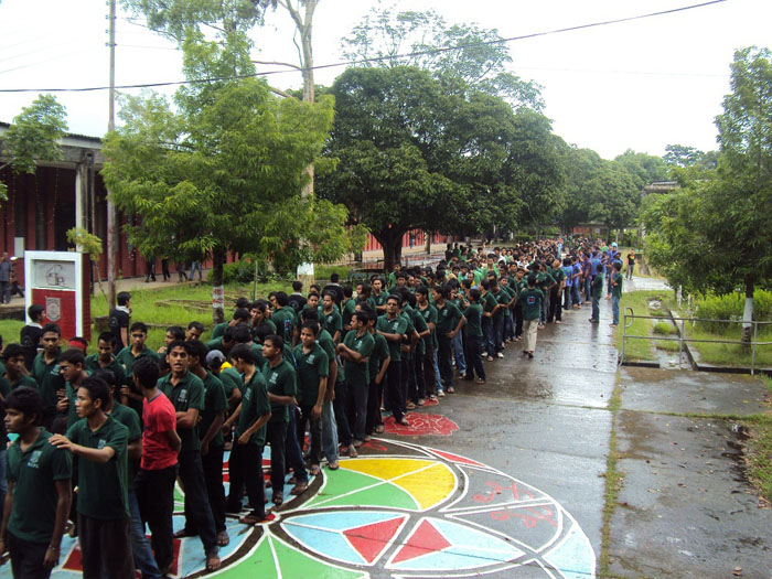 Rally of 42 Batch in Rag 2011