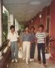Alamgir, Fazlul Bari, Salim , Rupak Barua  in 1985.