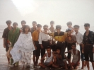 Study tour 1995 at Potanga sea beach