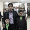 Bappi(Batch-24, Automobile) with his sons-Dec,2011
