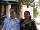 Chumki (Batch-16) with her Husband