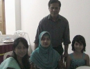 Nazrul(B-19-wood) with his family-March-2012