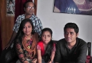 Rhiben (Batch:16, Civil) with his Family- Feb'2012