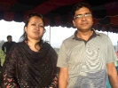 Shupayan(Batch:17,Auto) and his wife on Feb'2012