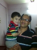 Tapos(Batch-18, Electrical) with his cute son-2011