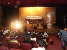 Cultural program at main dais of  auditorium