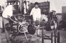 Student in the practical class of Automobile dept -b
