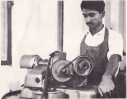 Student in the practical class of Machineshop dept-4